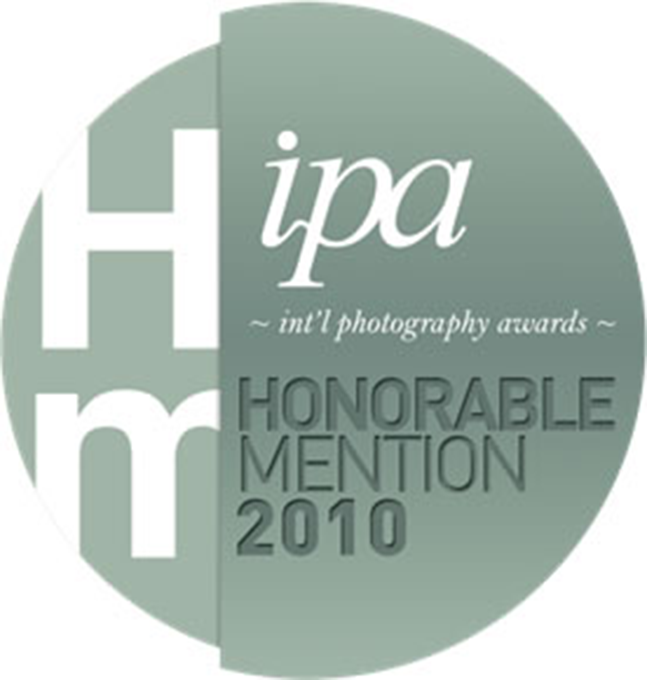 Honorable mention in IPA International photography awards professional 2010