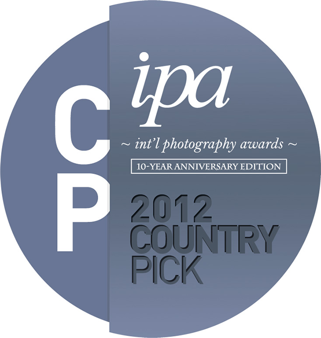 Country's Pick, 3rd place in IPA International photography awards professional 2012
