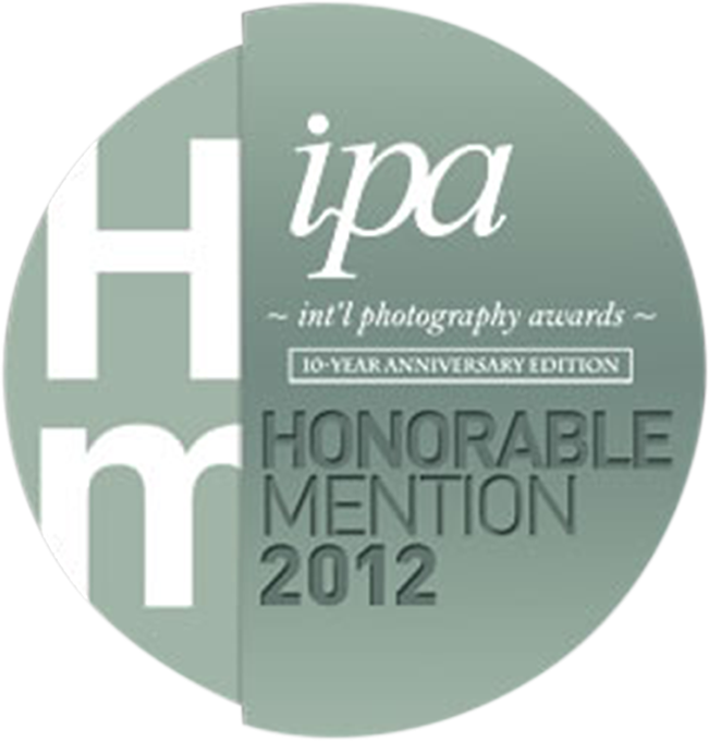 Honorable mention in IPA International photography awards professional 2012