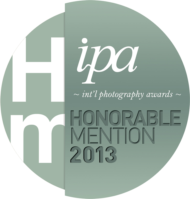 Honorable mention in IPA International photography awards professional 2013