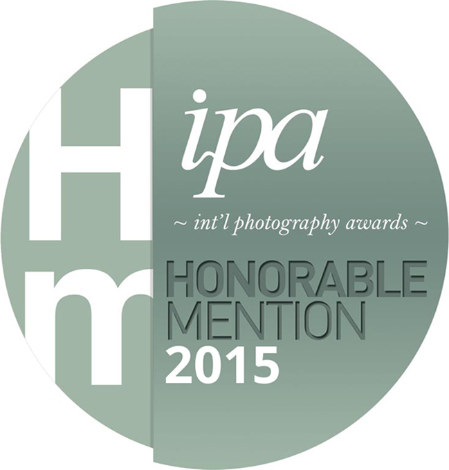 Honorable mention in IPA International photography awards professional 2015